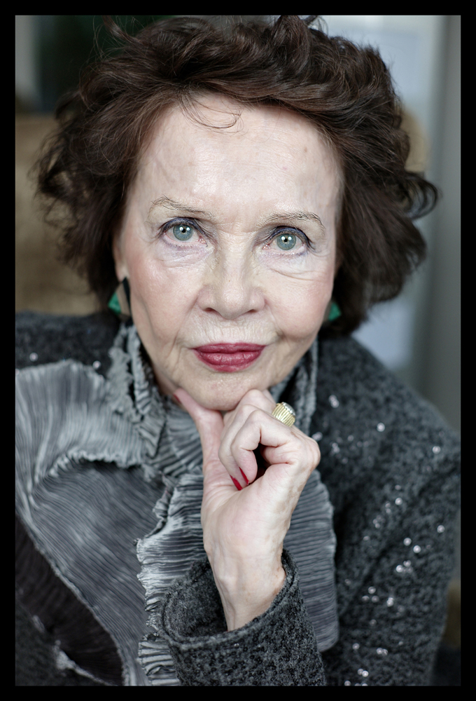 Close Up Of Leslie Caron